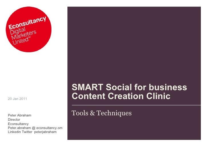 Smart social for_business