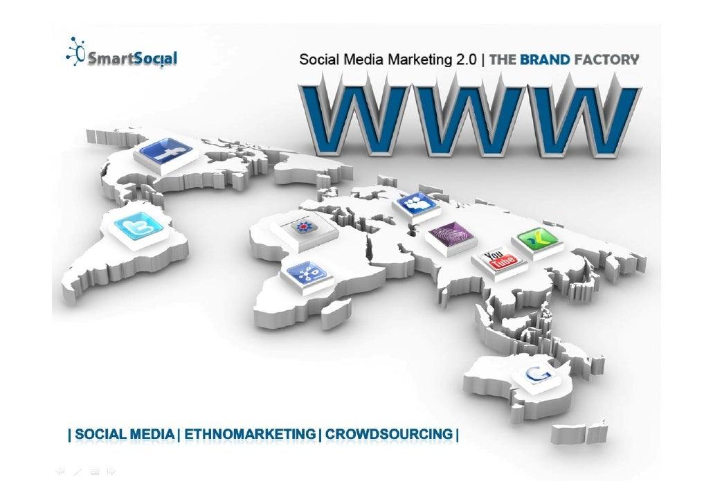 SmartSocial - Social Media Marketing Präsentation