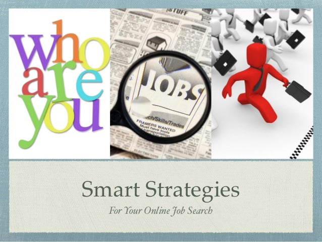 Smart strategies for branding yourself online job searches