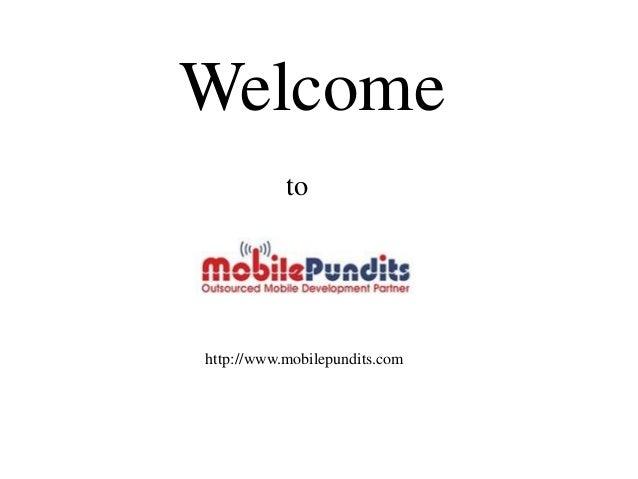 Welcome           tohttp://www.mobilepundits.com