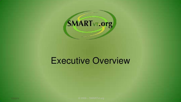 Smar Tvt Executive Overview