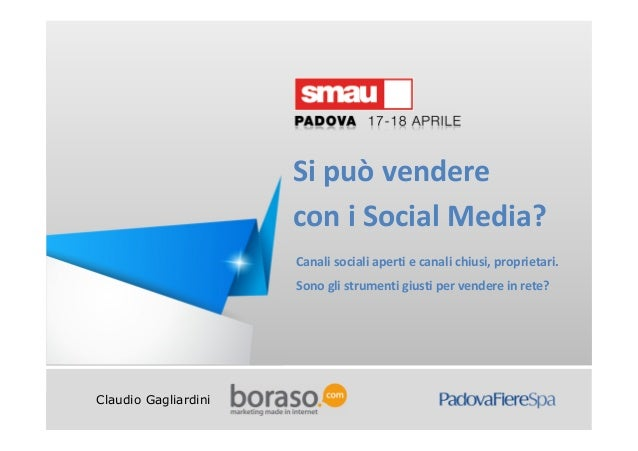 Si può vendere con i Social Media?