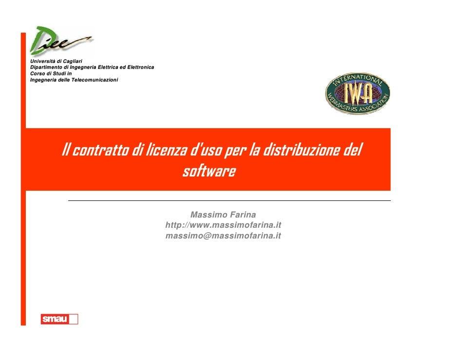 Università di Cagliari Università Dipartimento di Ingegneria Elettrica ed Elettronica Corso di Studi in Ingegneria delle T...