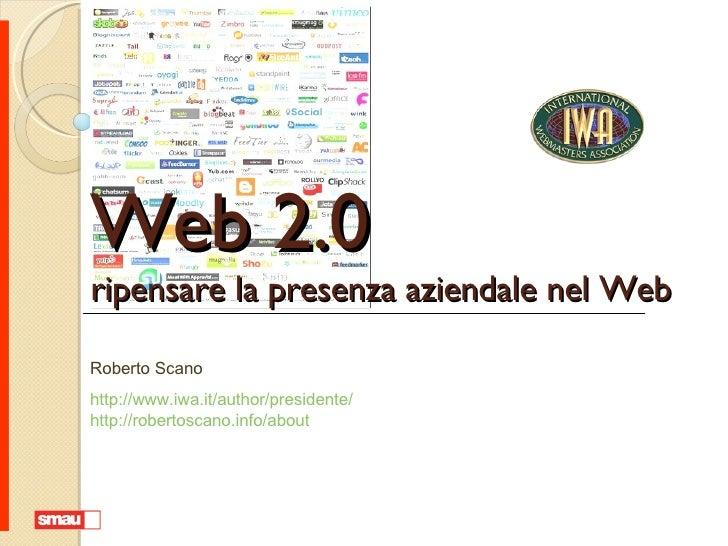 Web 2.0: ripensare la presenza aziendale nel Web