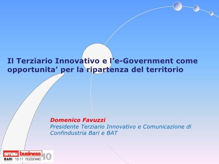 Smau Bari 2010 Domenico Favuzzi
