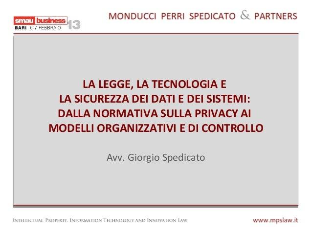 Smau Bari 2013 Giorgio Spedicato