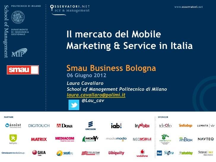 Smau Bologna 2012 Laura Cavallaro - mobile marketing