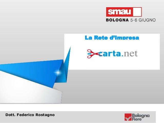 Smau Bologna 2013 Menocarta.net la rete d'impresa