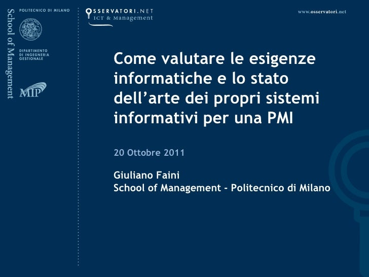 Smau Milano 2011 Giuliano Faini