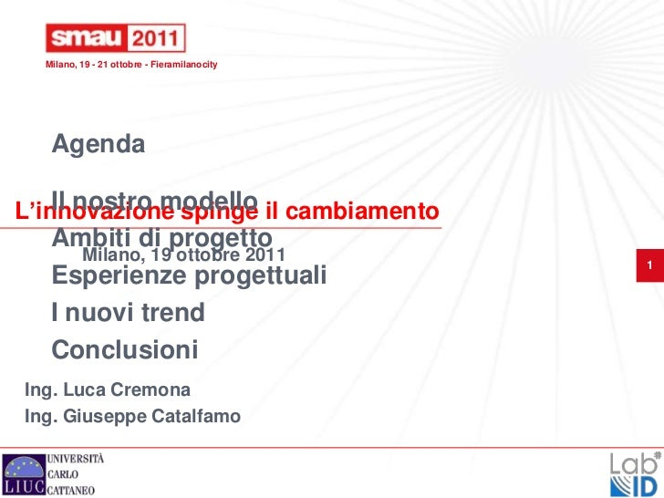 Smau milano 2011 - Cremona-Catalfamo