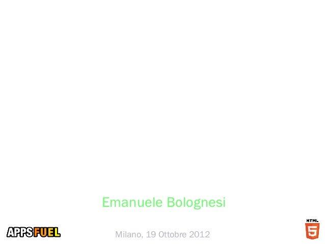 Smau milano 2012   arena social media emanuele-bolognesi