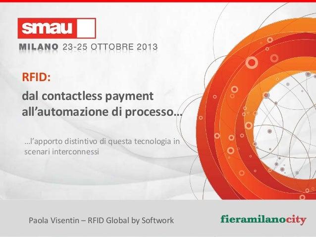 RFID: dal contactless payment all'automazione di processo… …l'apporto distintivo di questa tecnologia in scenari interconn...