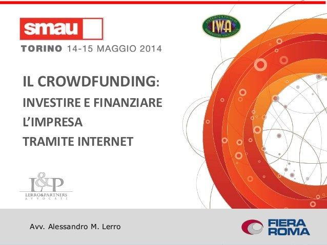 Il CROWD-INVESTMENT a SMAU Torino: reward-based ed equity-based crowdfunding
