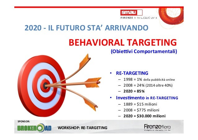 RE-TARGETING (inizio) - Workshop SMAU 2014