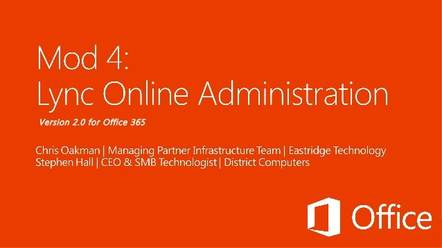 Version 2.0 for Office 365