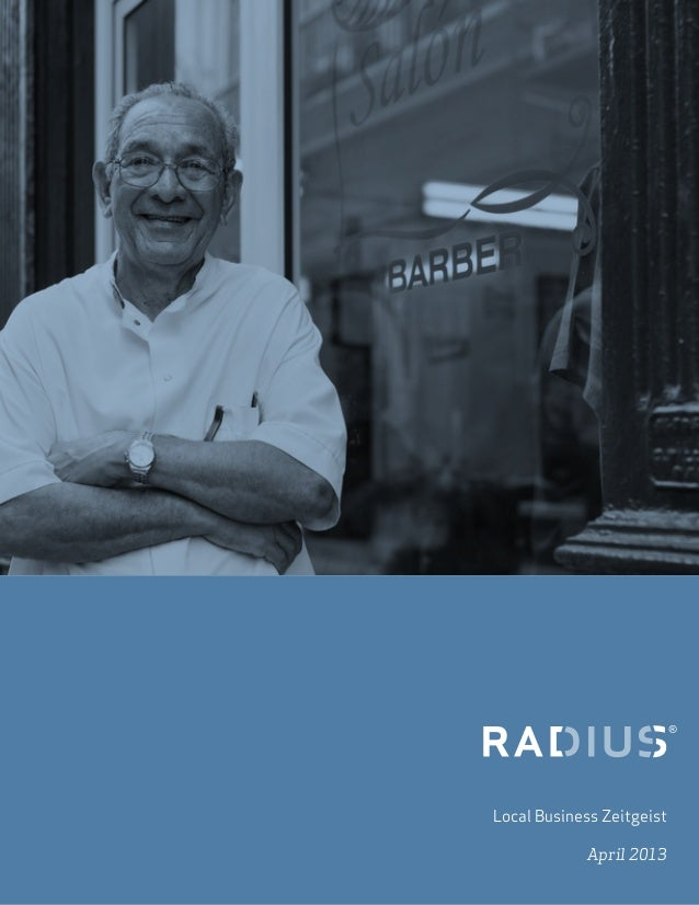 Radius April 2013 Small Business Report
