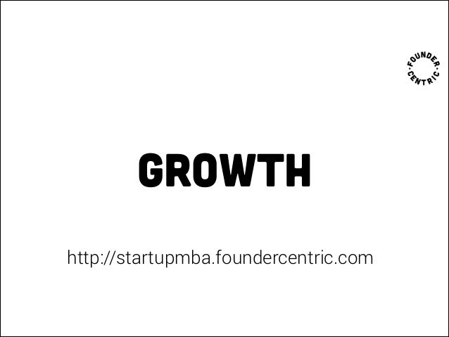 Startup MBA 3.0 - Growth, content marketing