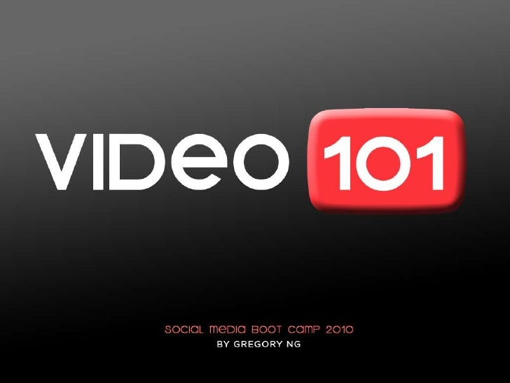 Video101: Social Media Boot Camp 2010