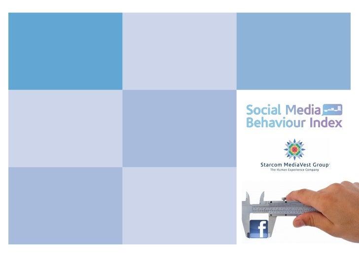 Social Media Behaviour Index - Actions Speak Louder Than Clicks