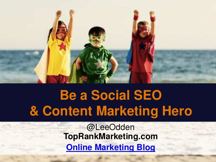 Social Media & SEO - TopRank Online Marketing