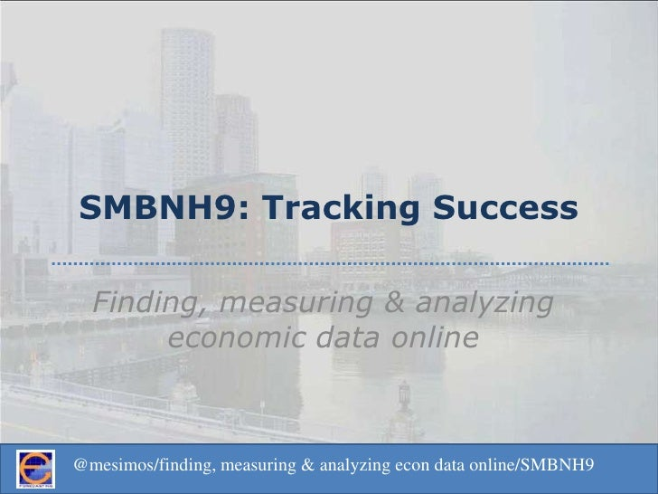 Smbnh9 Tracking Success Presentation
