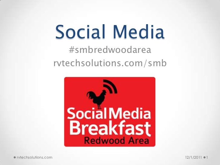 Social Media                          #smbredwoodarea                      rvtechsolutions.com/smbrvtechsolutions.com     ...
