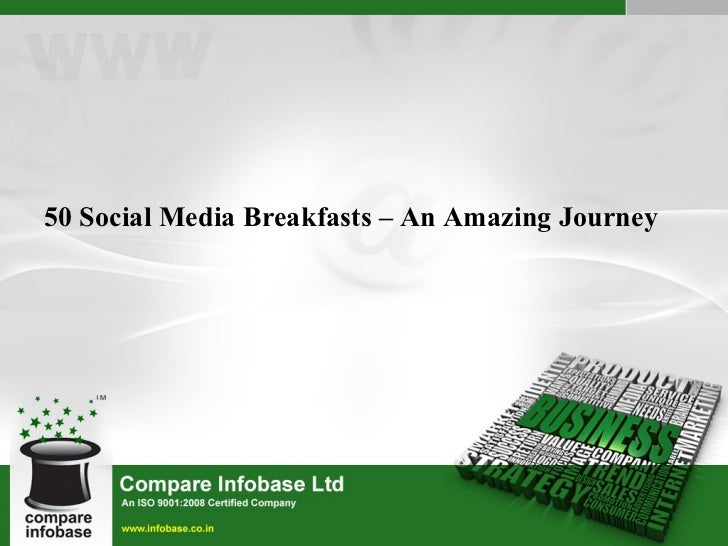50 Social Media Breakfasts – An Amazing Journey