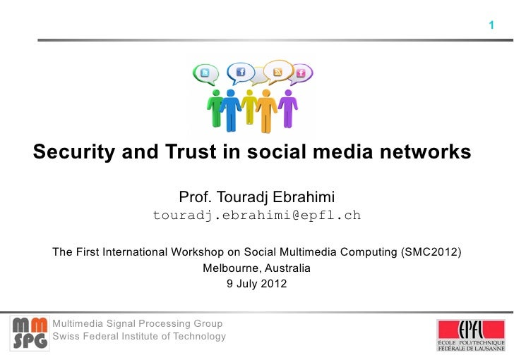 Security and Trust in social media networks