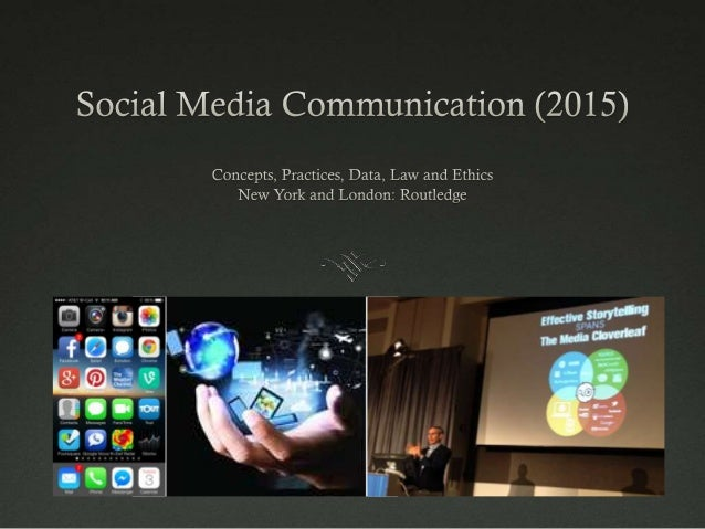 Social Media Communication #SMC2015 Introduction
