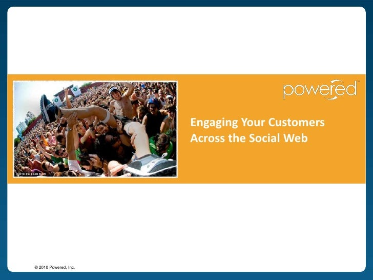 Engaging Your Customers Across the Social Web<br />