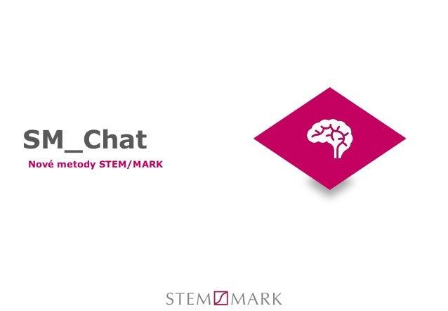 SM_Chat Nové metody STEM/MARK