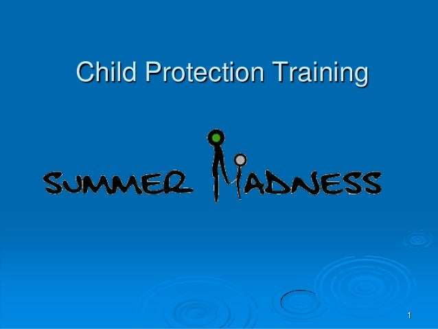 SM Child Protection Training