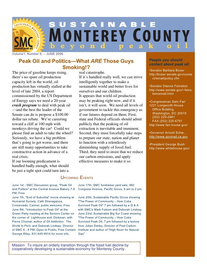 Smc Newsletter June 06
