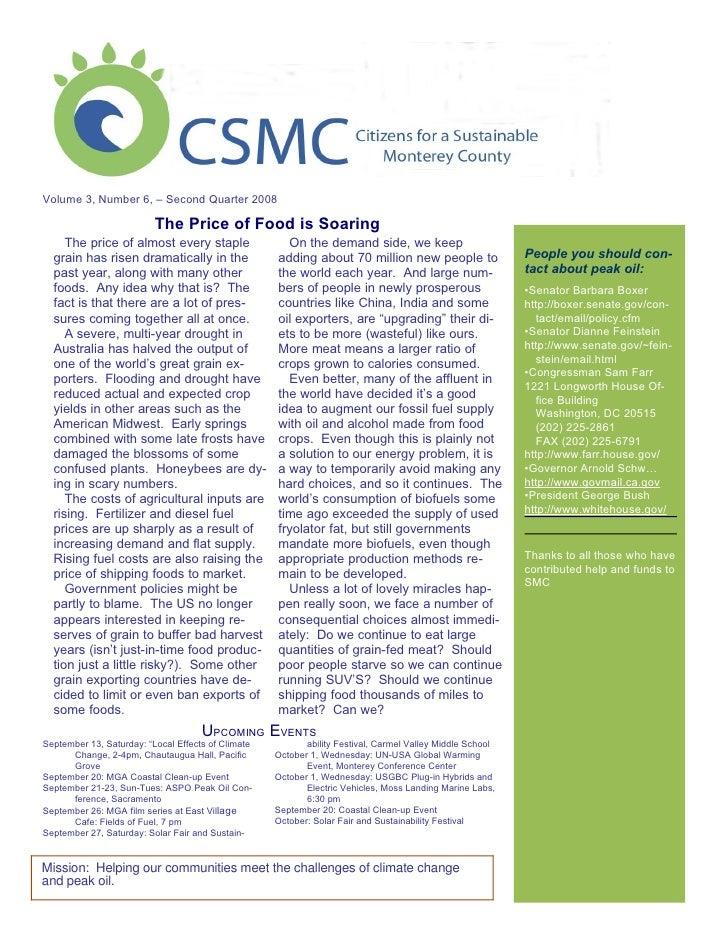 Smc Newsletter June 08