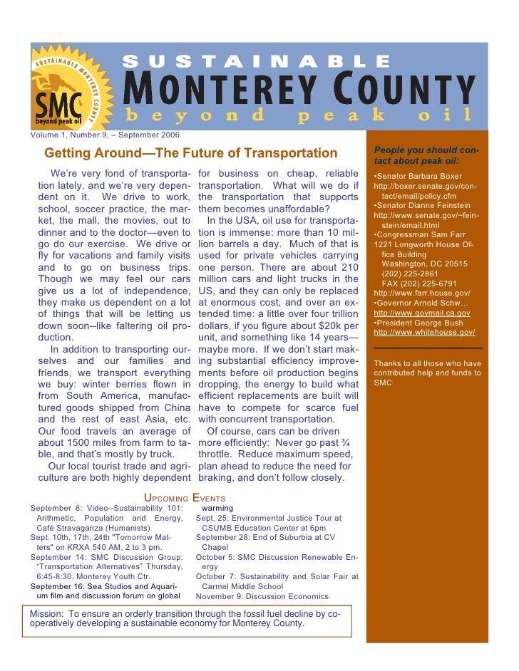 Smc Newsletter September 06