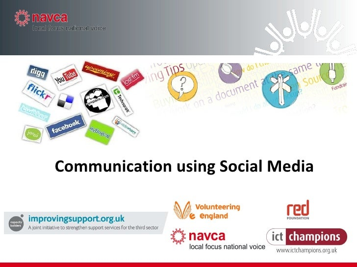 Communication using Social Media
