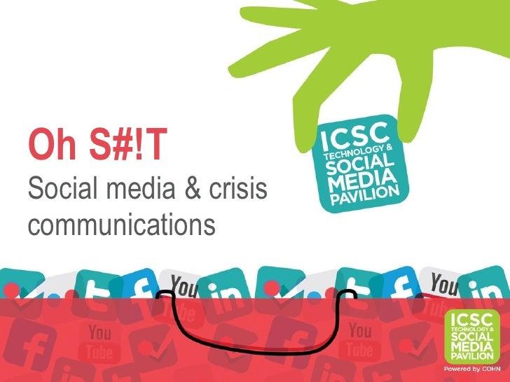 Sm crisis communications