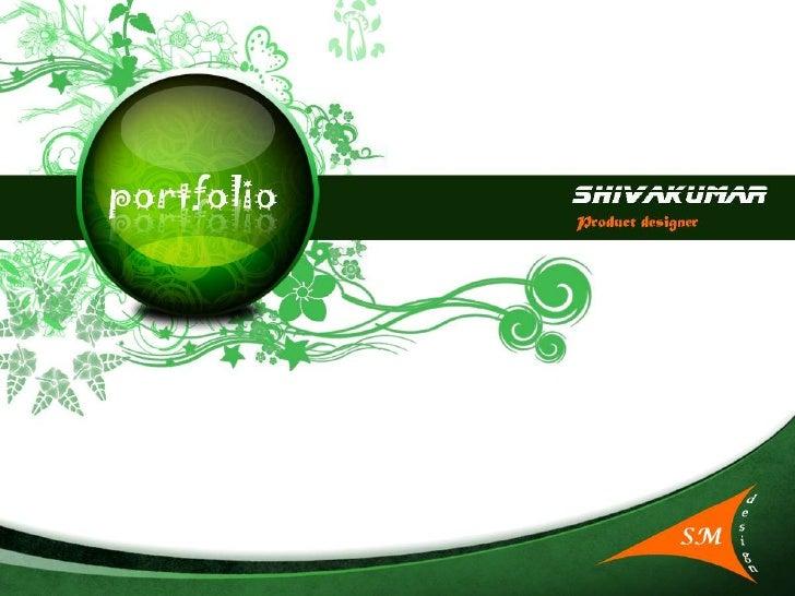 Sm Design Portfolio Ppt