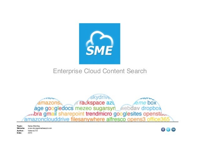 Enterprise Cloud Content Search