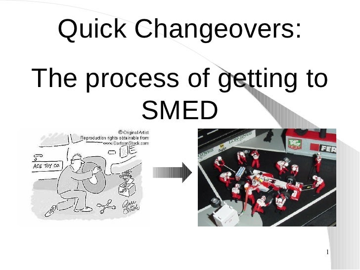 Quick Changeovers: The process of getting to SMED
