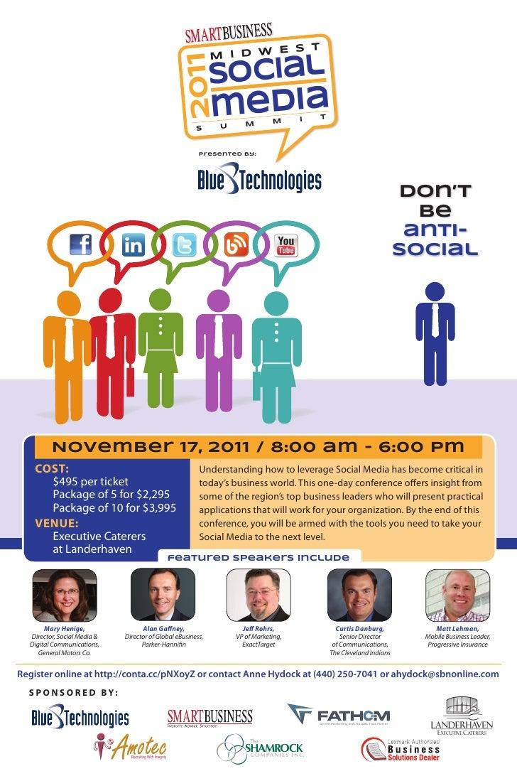 Smart Business Social Media Summit