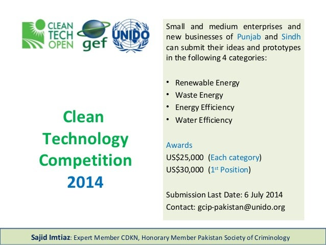 Clean Technology Contest
