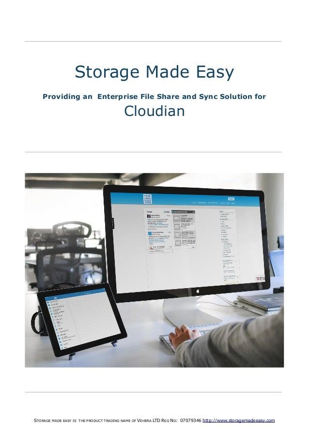 Storage Made Easy, Enterprise File Share and Sync Solution for Cloudian Cloud Storage