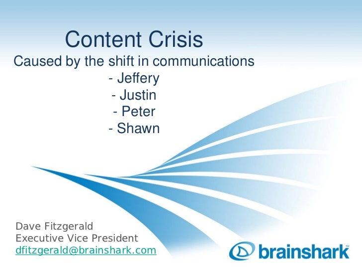 David Fitzgerald, Brainshark