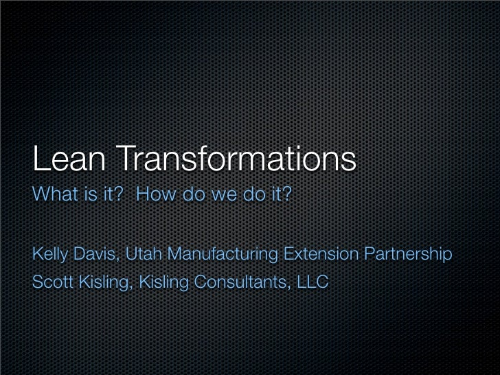 SME Lean Presentation