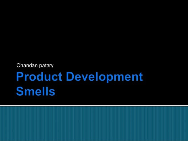 Organizational Product development smells