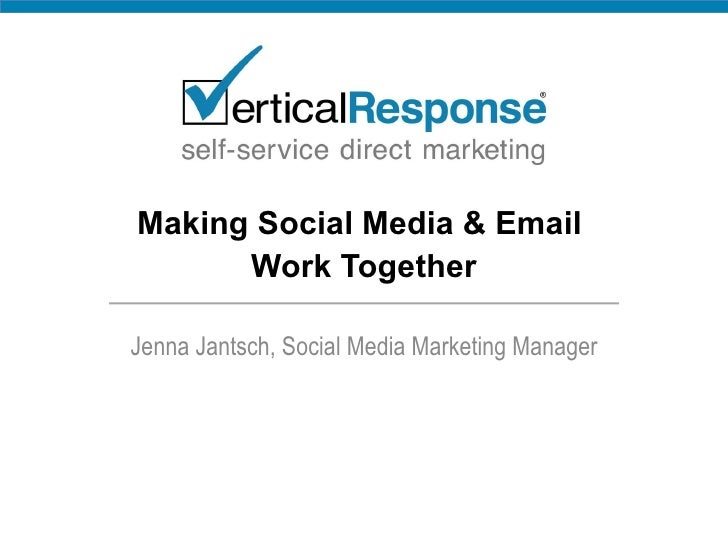 How to Make Social Media & Email Work Together