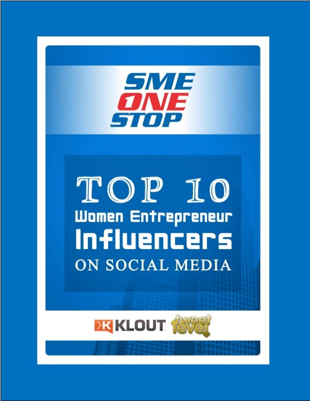 Table Of Contents Introduction Top 10 Women Entrepreneur Influencers on  Social Media Profiles of the Top 10 Influencer...