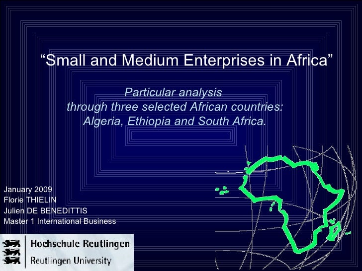 SMEs In Africa