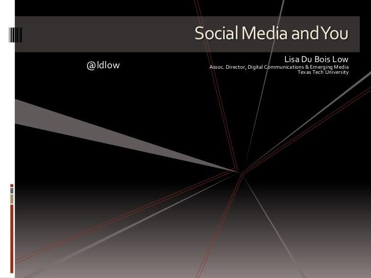 Social Media Etiquette for Students